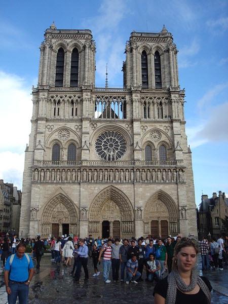 La cathédrale de Notre-Dame paris gratuit
