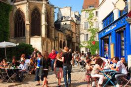 Zoom sur le quartier du Marais à Paris