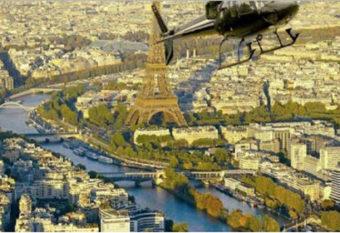 Découvrez Paris comme jamais avec un survol en hélicoptère