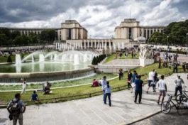 Découvrez les jardins du Trocadéro à Paris